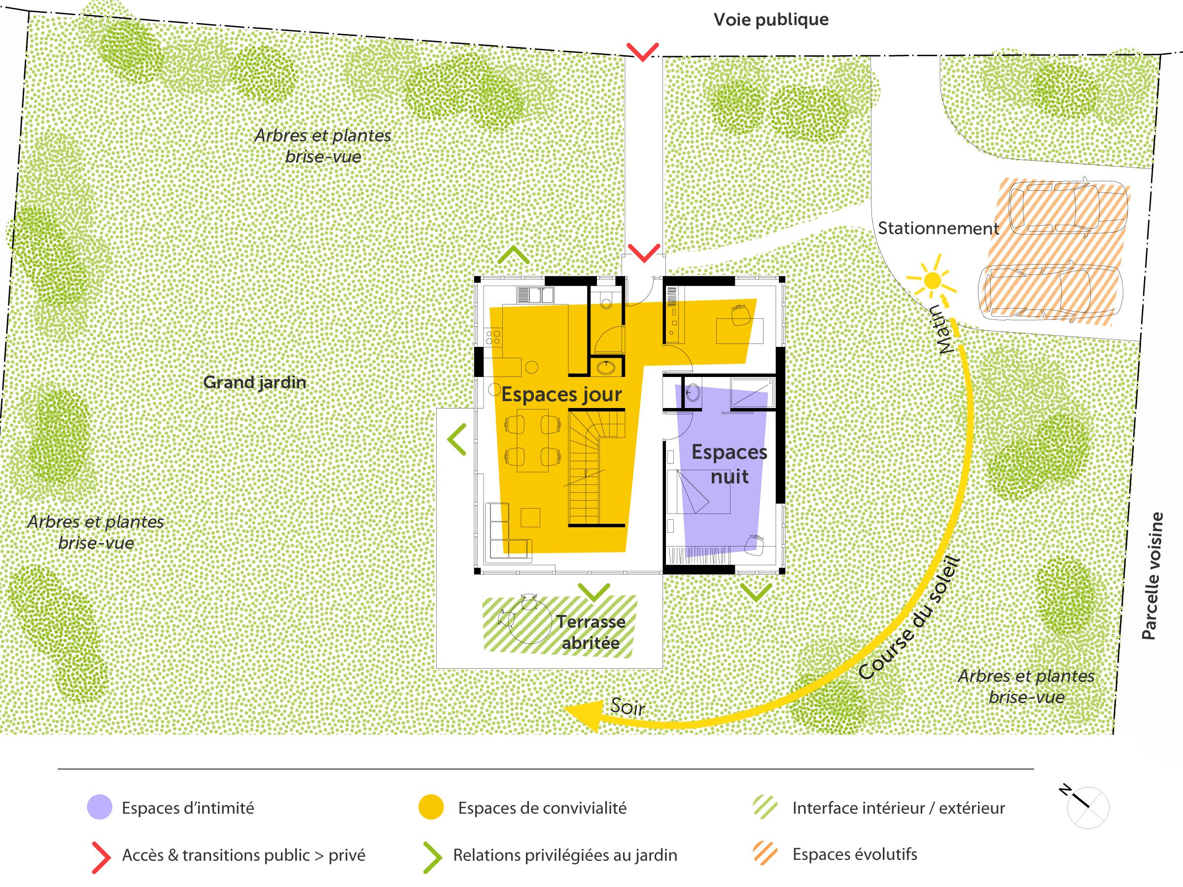 Plan maison originale ooreka - Plan de maison original ...