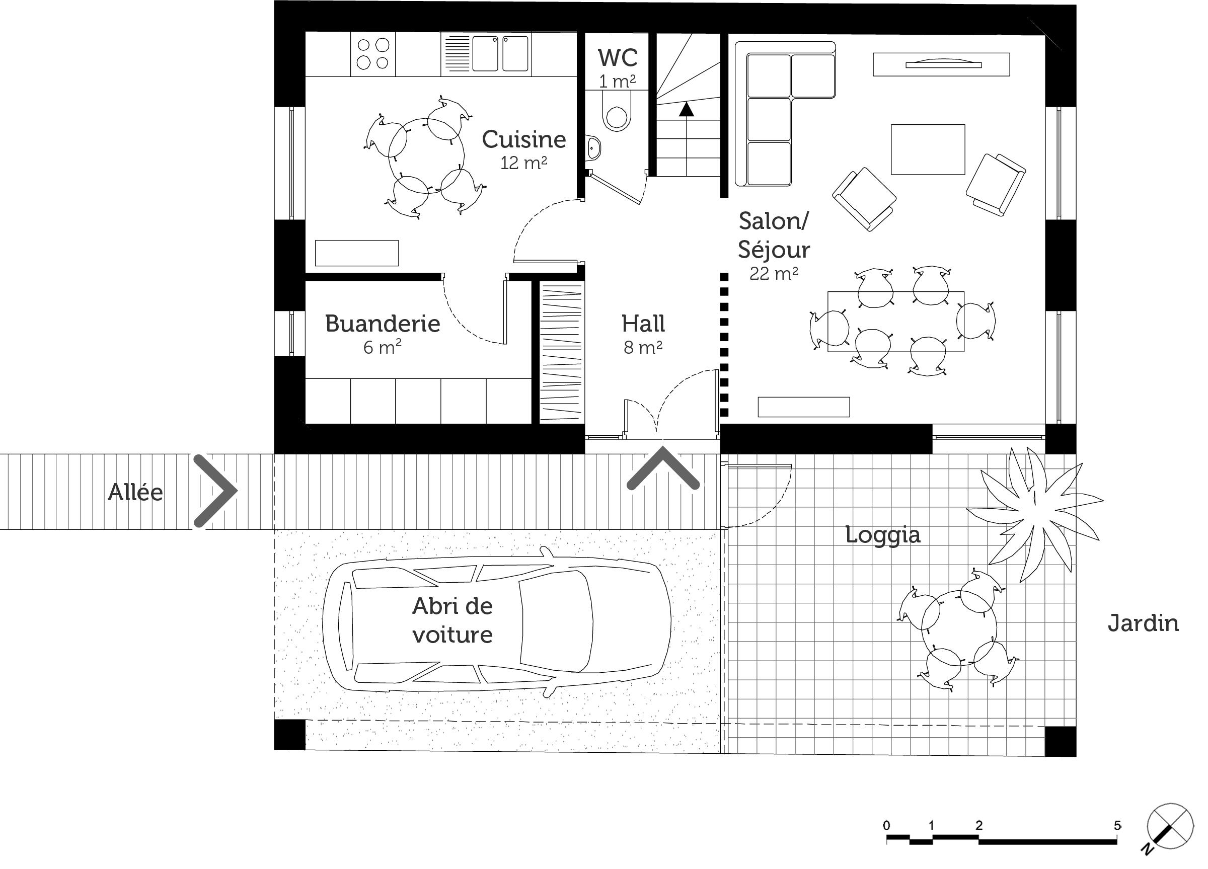 Plan maison tage 100 m ooreka for 100 plans de maison