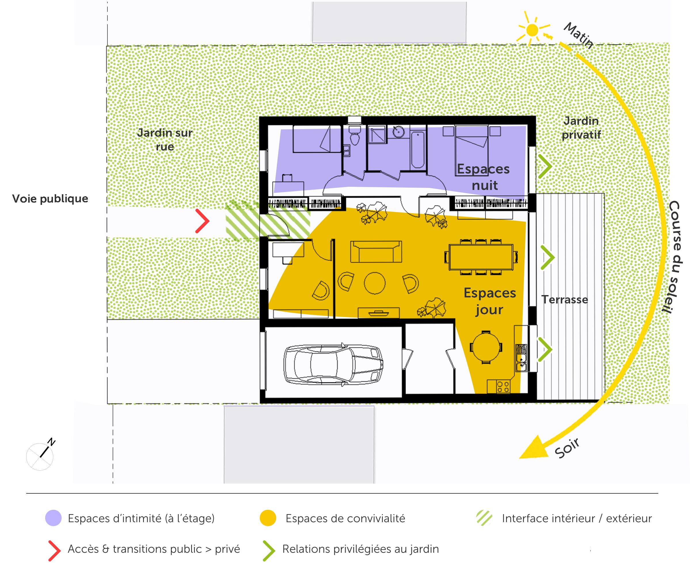 Plan Maison Cubique De Plain Pied Ooreka