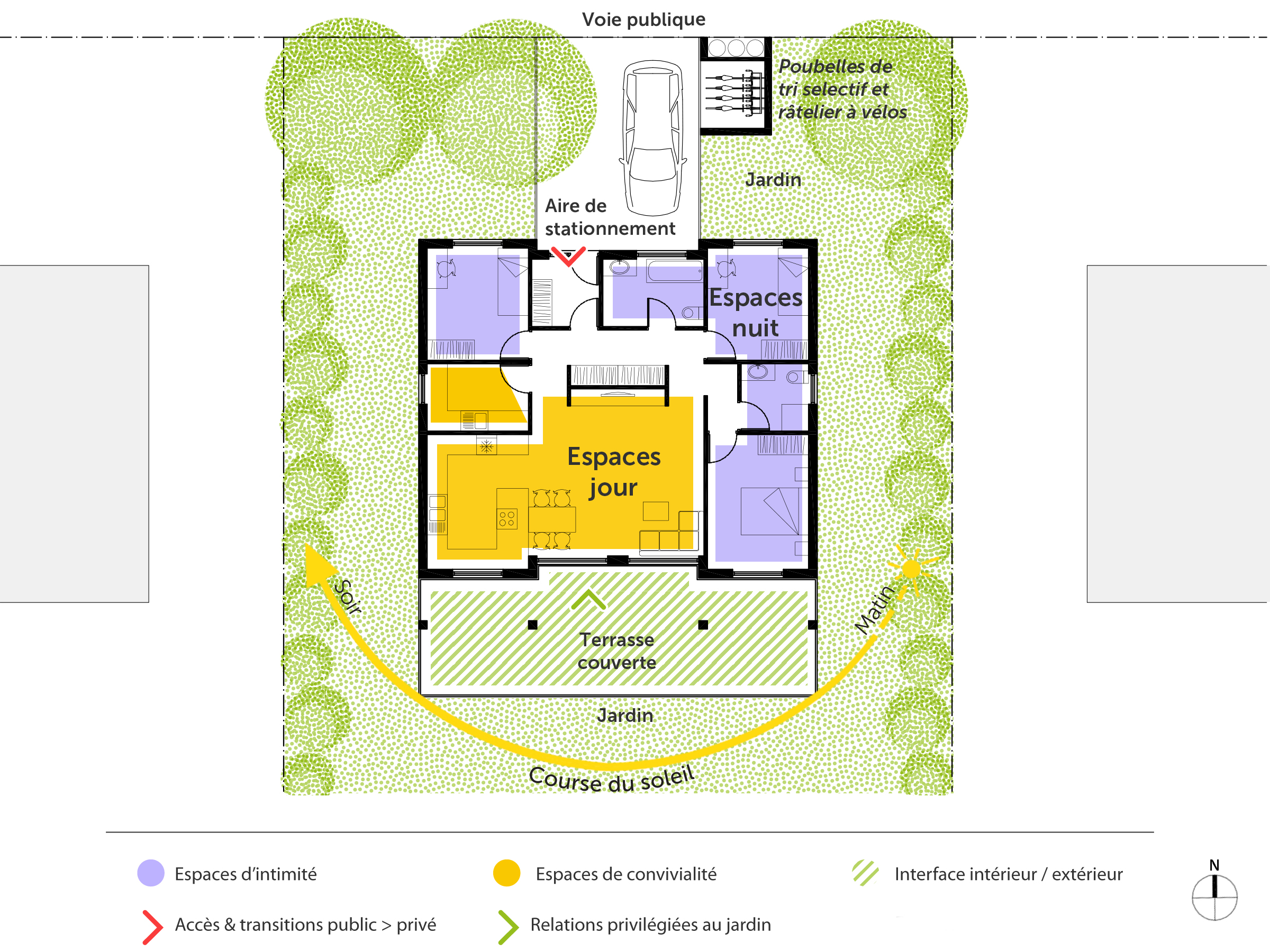 Plan maison cr ole ooreka for Plan maison interieur