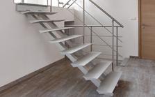 L'escalier en aluminium