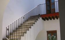Peindre un escalier en béton