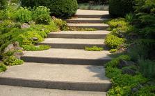 Construire un escalier de jardin