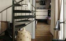 L'escalier en inox
