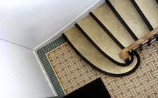Le carrelage d'escalier