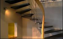 L'escalier débillardé