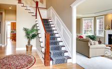 Le tapis d'escalier