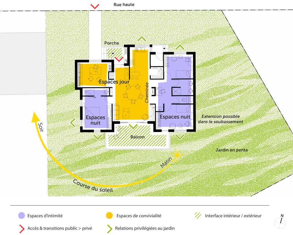 Plan chalet plain pied ooreka for Plan de chalet contemporain