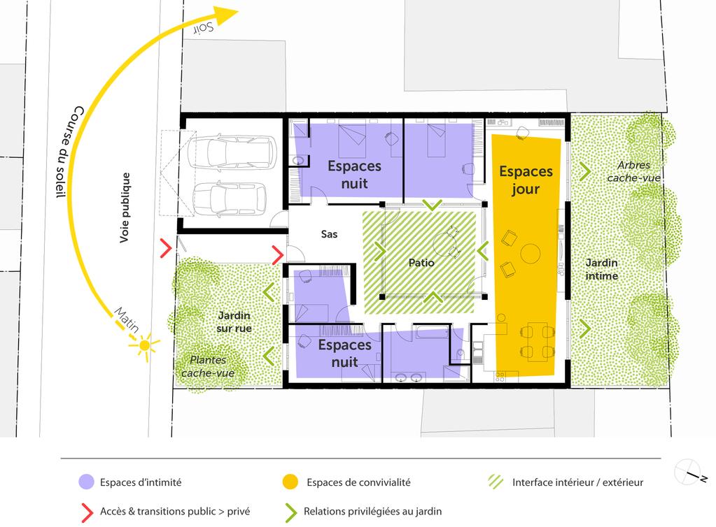 Plan Maison Plain Pied 4 Chambres Ooreka