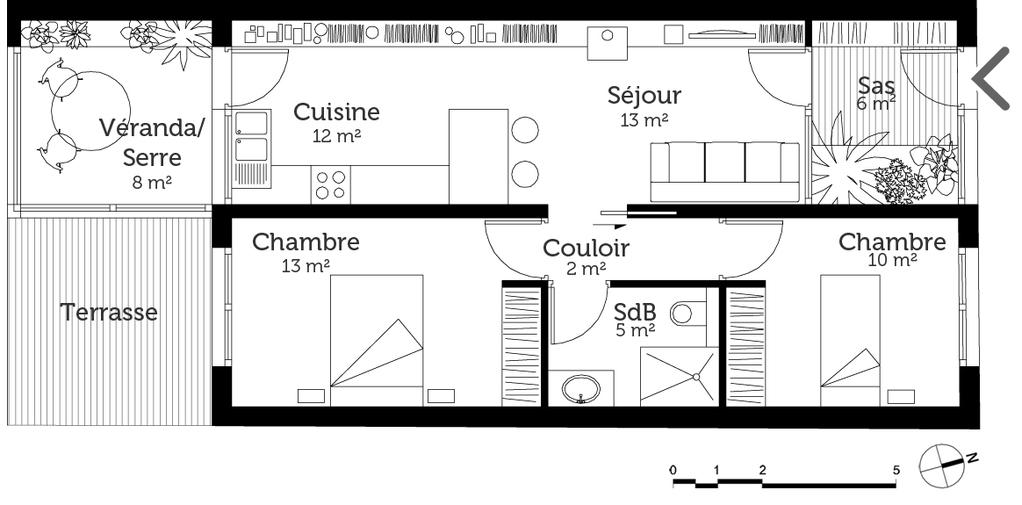 Plan Maison Contemporaine Plain Pied Ooreka