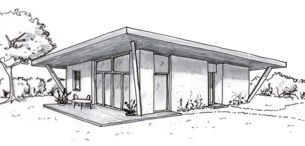 Plan maison moderne avec 3 chambres ooreka for Dessin maison 3d