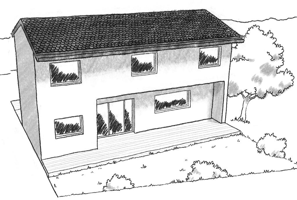 plan maison tage 110 m avec 3 chambres ooreka. Black Bedroom Furniture Sets. Home Design Ideas