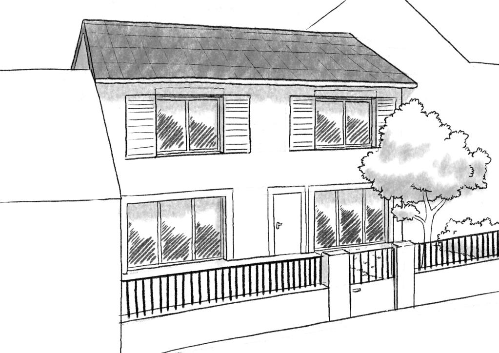 Plan maison 3 chambres et terrasse ooreka - Maison avec balcon terrasse ...