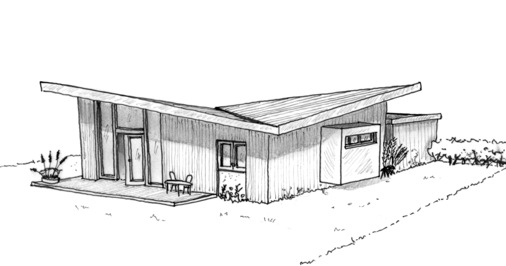 plan maison moderne avec 3 pi ces ooreka. Black Bedroom Furniture Sets. Home Design Ideas