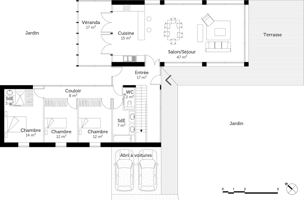 Plan Maison Rez De Chausse Affordable M With Plan Maison Rez De