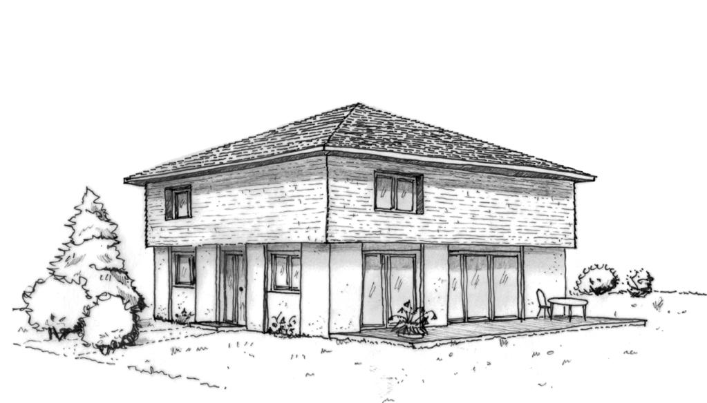 plan maison design en bois ooreka. Black Bedroom Furniture Sets. Home Design Ideas