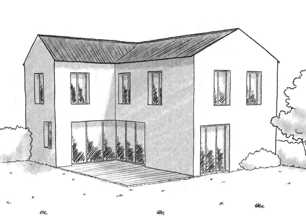 Plan Maison 3 Chambres Et Dressing Ooreka