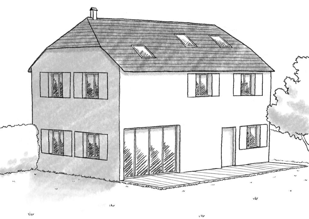 Plan Maison De Campagne Traditionnelle - Ooreka