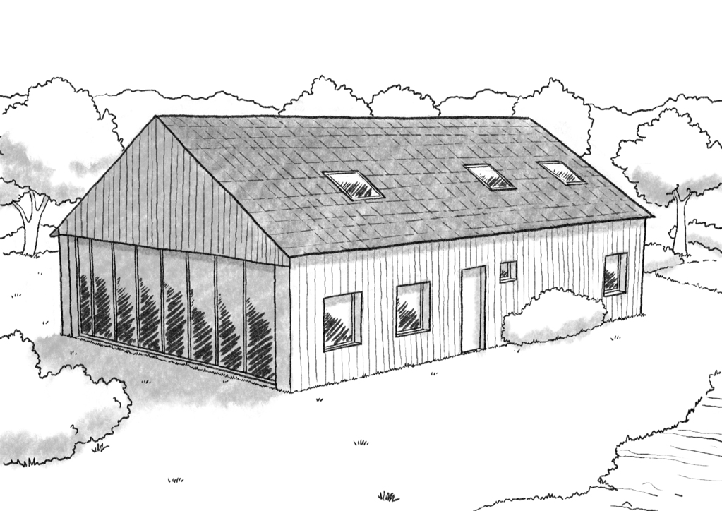 Plan Maison De Campagne Contemporaine Ooreka