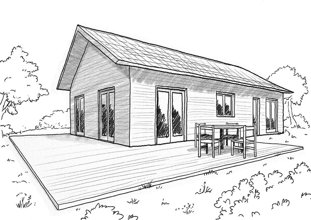 Plan maison de plain pied 80 m ooreka for Plan maison terrasse