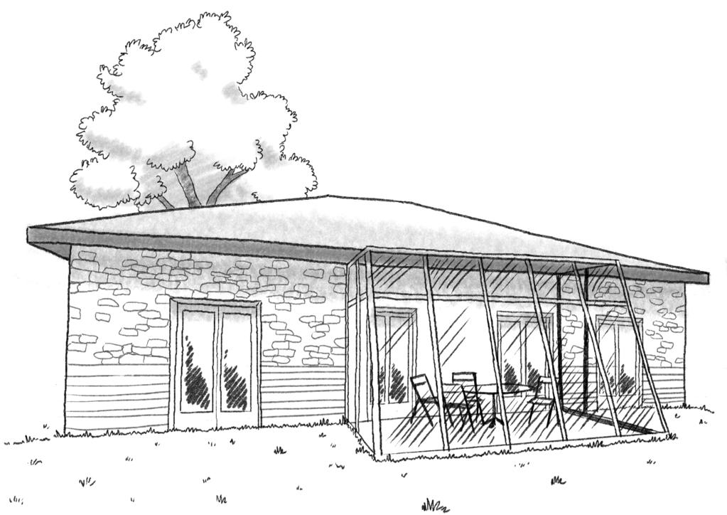 Esquisse 3D Plan De Maison Avec Jardin Du0027hiver