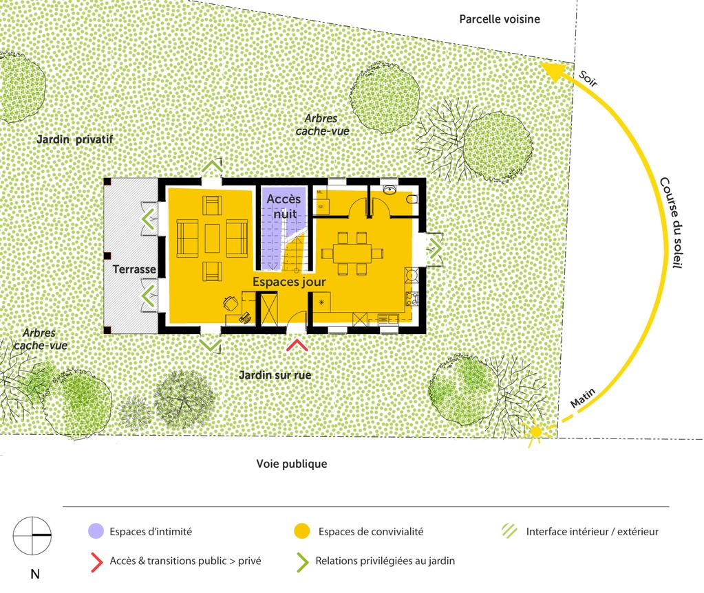 Plan Maison A Etage Avec Terrasse Ooreka