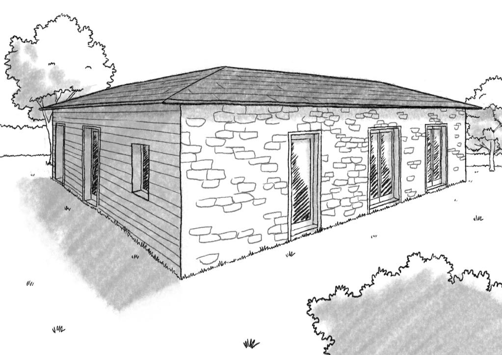 Plan maison cubique 120 m avec 4 chambres ooreka - Plan maison avec tour carree ...