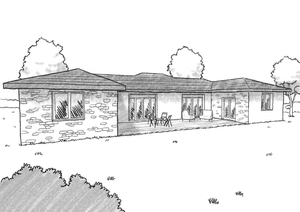Plan maison de plain pied 140 m ooreka - Plan maison provencale en u ...