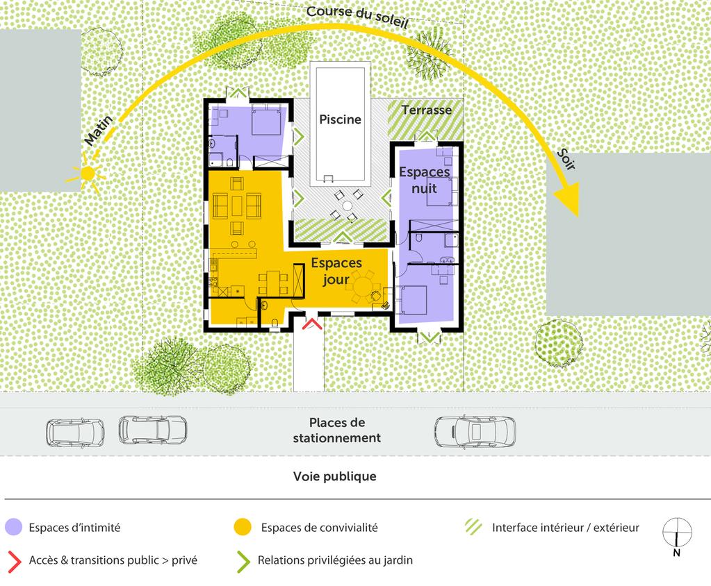 plan de maison 130 m