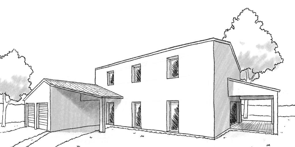 plan de maison bastide