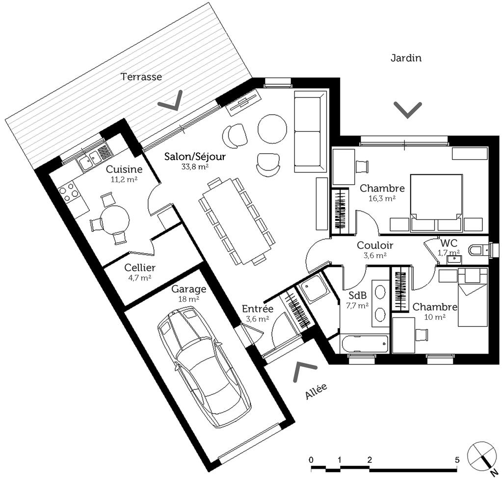 Epingle Sur Plans Maisons 12