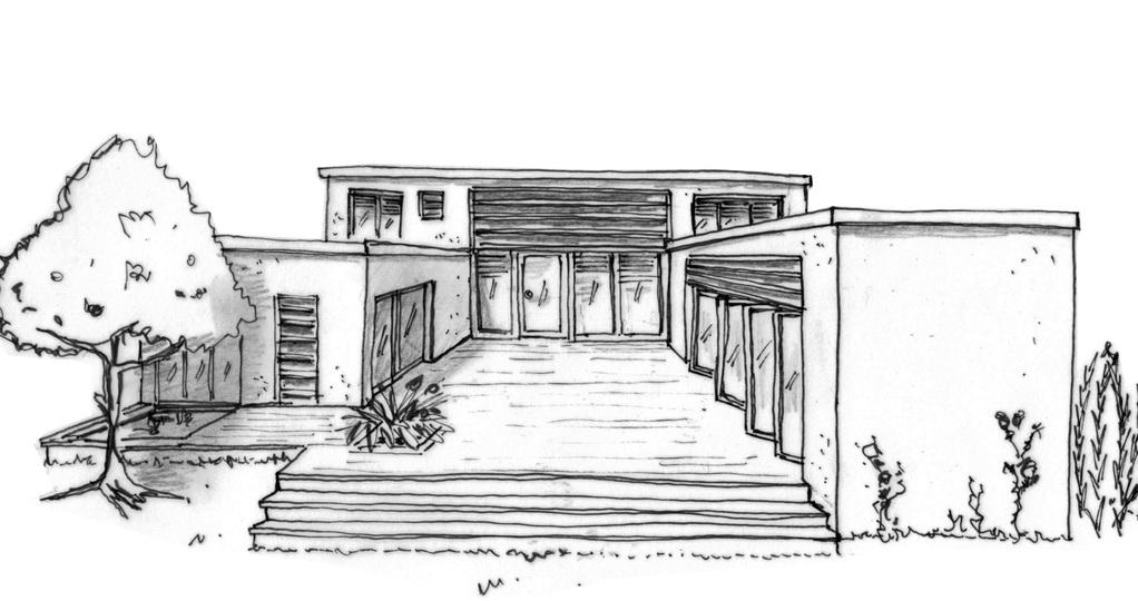 Plan maison en u avec piscine ooreka for Maison contemporaine en u
