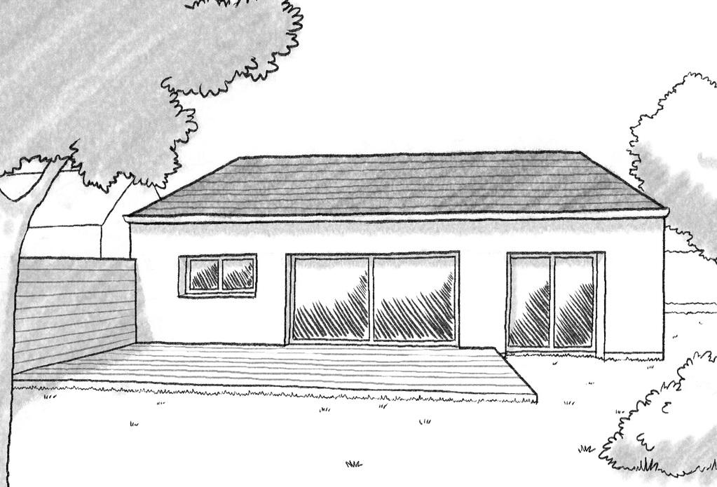 plan maison de plain pied avec 1 chambre ooreka. Black Bedroom Furniture Sets. Home Design Ideas