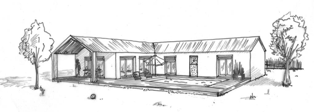 Plan maison en l avec 4 chambres ooreka for Architectes de construction de maisons