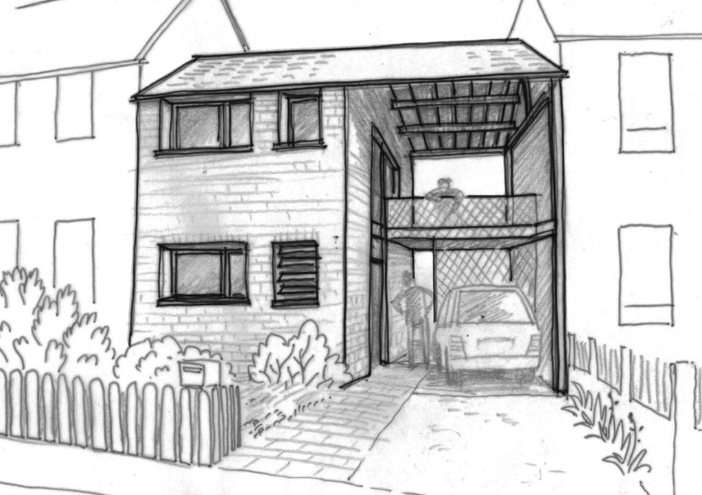 Plan maison tage 100 m ooreka for Plan de construction dessin en ligne