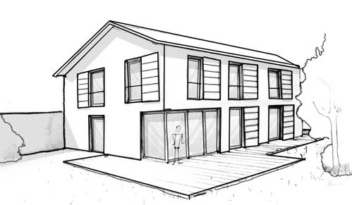 Plan maison 3 chambres et dressing ooreka - Plan de maison rectangulaire ...