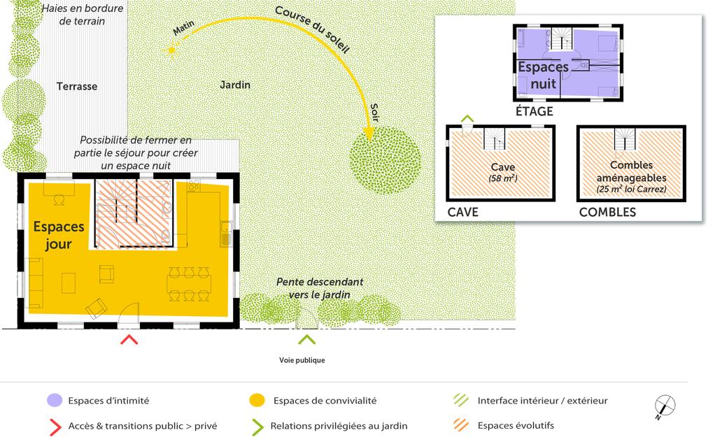 110 m² 4 pièces