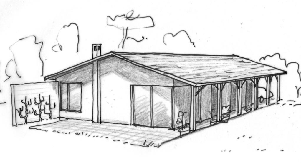 Plan maison de plain pied avec terrasse ooreka for Plan maison plain pied avec piscine