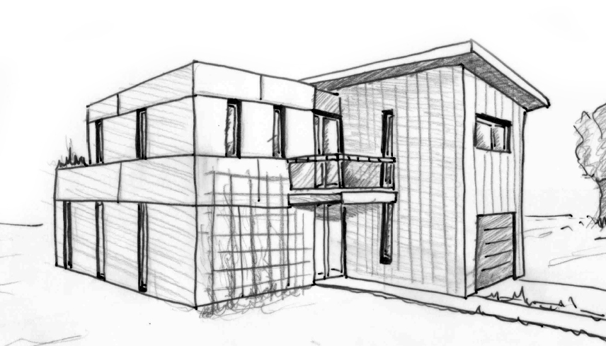 plan maison 130 m avec balcon ooreka. Black Bedroom Furniture Sets. Home Design Ideas