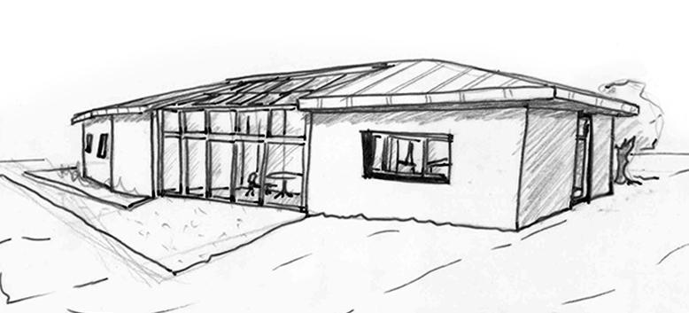 plan maison traditionnelle avec v randa ooreka. Black Bedroom Furniture Sets. Home Design Ideas