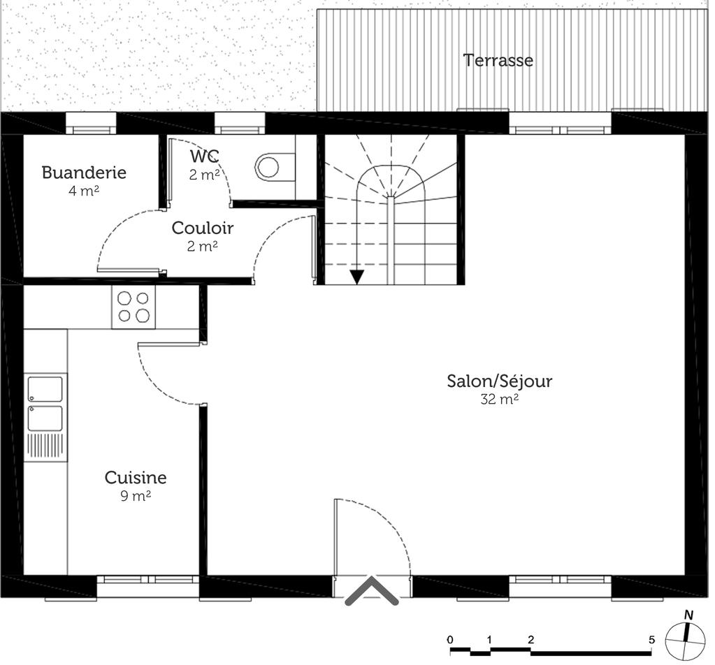 Plan maison individuelle tage ooreka Maison individuelle plan