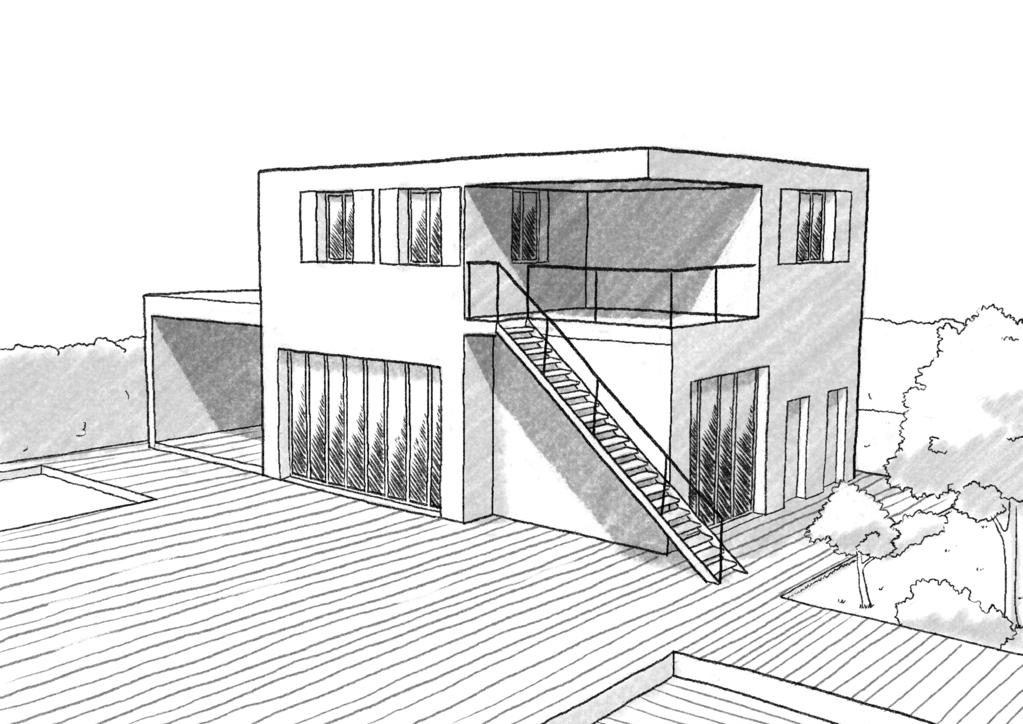 Plan maison californienne - Ooreka
