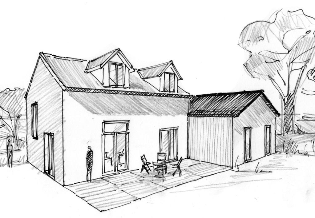 plan maison traditionnelle tage ooreka. Black Bedroom Furniture Sets. Home Design Ideas
