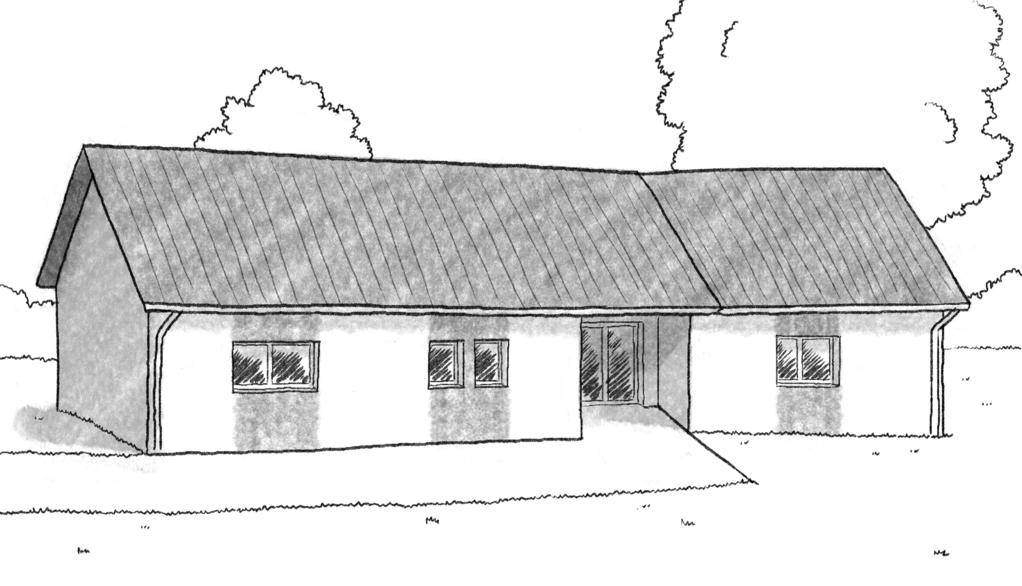 plan maison en v avec 3 chambres ooreka. Black Bedroom Furniture Sets. Home Design Ideas