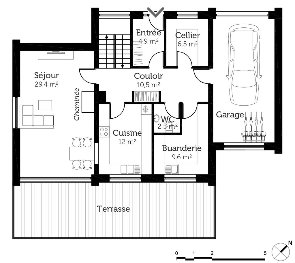 145 m²