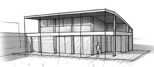 Plan maison plain pied avec 2 chambres ooreka for Photo maison loft