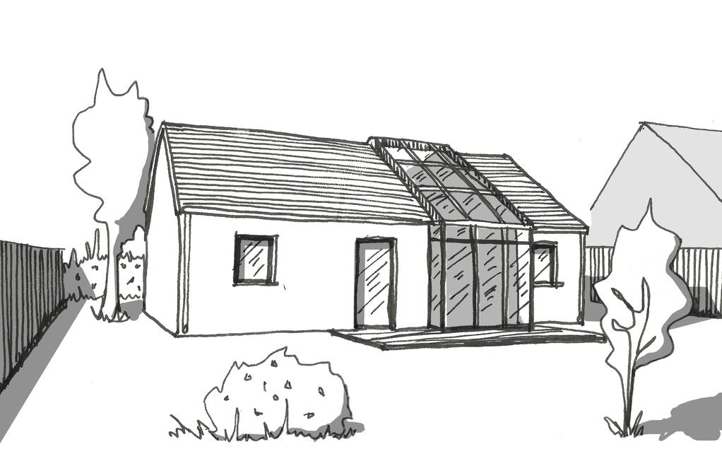 Plan maison en longueur de plain pied ooreka - Idee plan maison en longueur ...