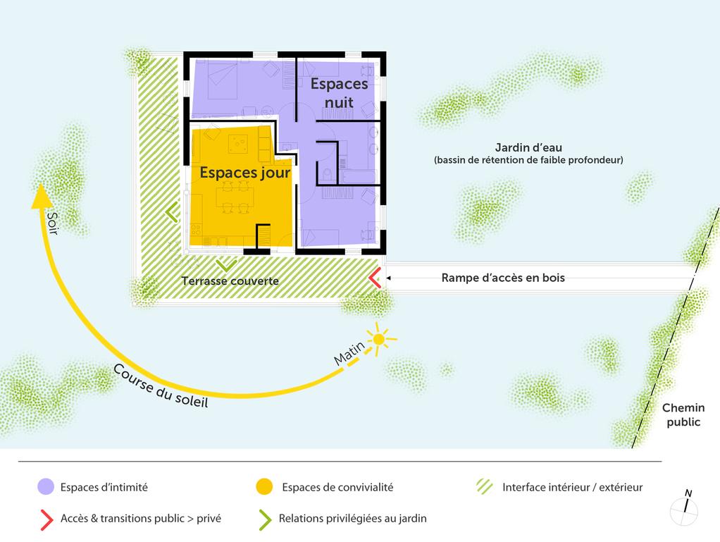 Plan Maison En Bois Sur Pilotis