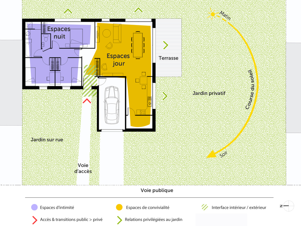 Combien De Wc Dans Une Maison plan maison en l avec 3 chambres - ooreka