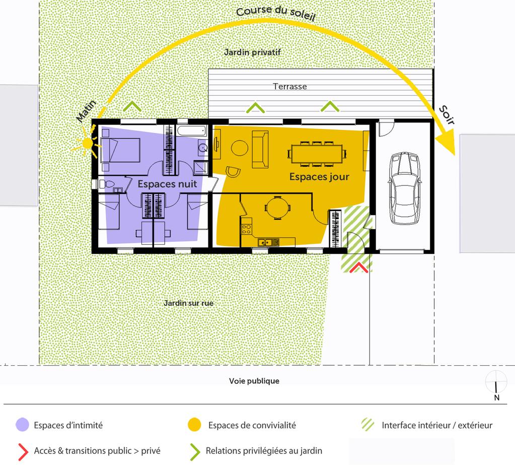 105 m²